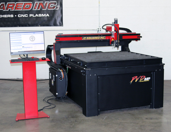 Water table for hand held plasma cutters without cutting slats Plasma Table